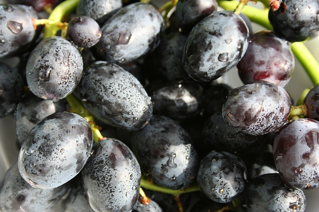 Benefits of black grape fruit for health